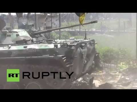 Ukraine: Tank battle erupts near Donetsk airport amid continued violence