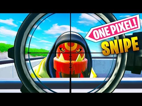 CRAZY *ONE PIXEL* SNIPE..!! | Fortnite Funny and Best Moments Ep.570 (Fortnite Battle Royale)