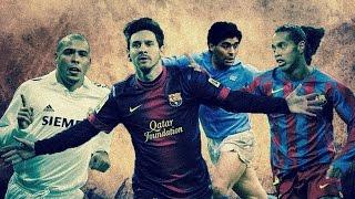 Maradona, Ronaldo, Ronaldinho, Messi dribbles goes one better?