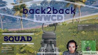 Gambar cover SQUAD GAMING - BACK2BACK WWCD - PUBG PC