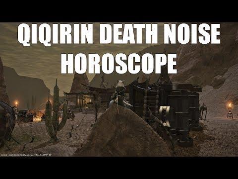 Qiqirin Death Noise Horoscope [FFXIV What]