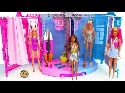 Beach Shop ! Dolphin Magic Barbie Sets Part 3 ! Dress Up Shopping