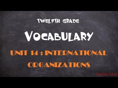 Học tốt tiếng Anh lớp 12 – Unit 14 International Organizations
