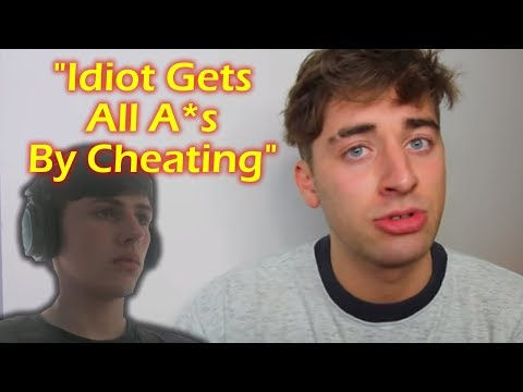 Reacting To 'How I Cheated In My GCSEs' (Reacting To Touchdalight)