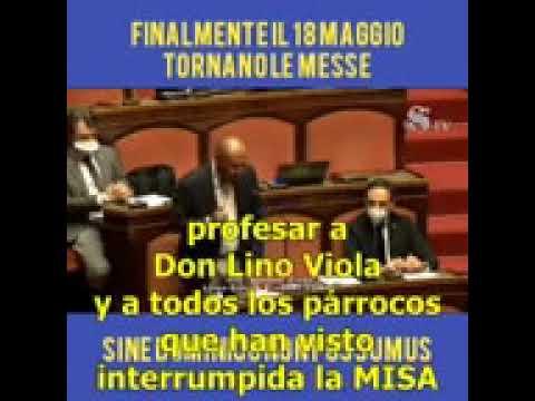 Un senador italiano denuncia las trabas a los católicos con el COVID-19