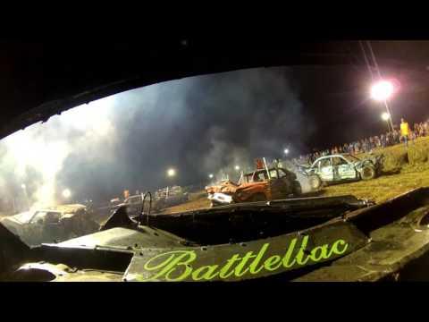Fulton County Fair Lewistown IL 2017 Demolition Derby Wire Class