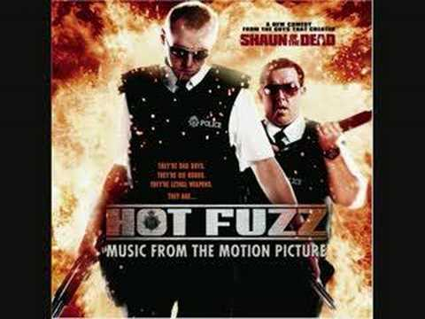 Hot fuzz soundtrack Goody two shoes