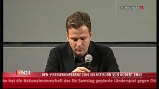 Oliver Bierhoff weint um Robert Enke (†32)