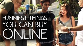 People React to the STRANGEST Things You Can Buy Online!
