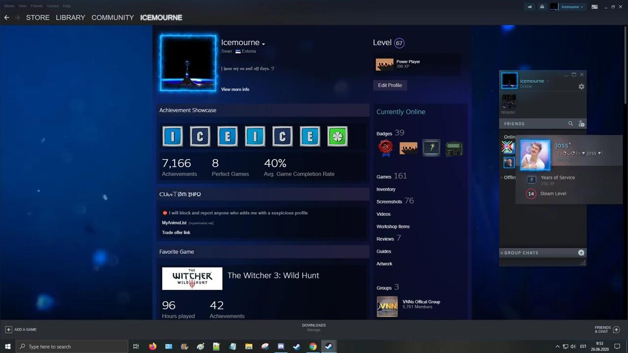 Steam Summer Sale 2020 Animated Profile Background Blue Deep Sea Showcase Youtube