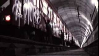 Graffiti Metro Madrid MDR Reality Show 2 mint19