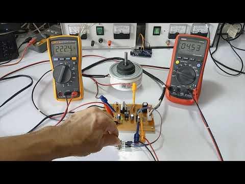 Speed control BLDC