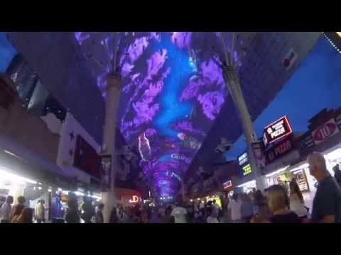 The sights and sounds of Fremont St, Las Vegas