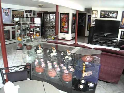 ultimate football basketball sports MAN CAVE 2 YouTube