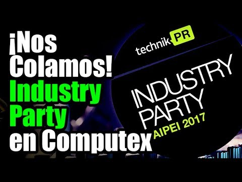 Colados en la Industry Party de TechnikPR en Taipei - Droga Digital