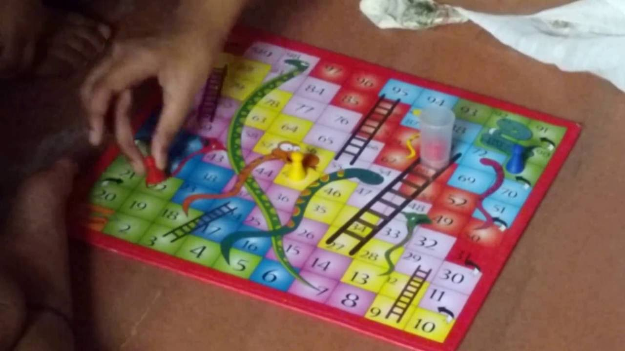 Play snakes and ladders board game | board game for kids | kids.