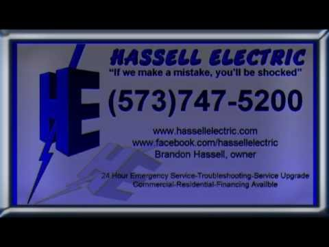Hassell Electric (573)747-5200 Terre Du Lac Mo Electrician
