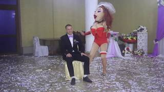 Шоу на свадьбу Одесса-Киев. Шоу программа шоу кукол