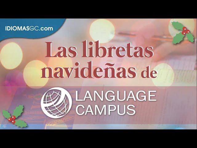 En estas navidades... ¡felicidades desde Language Campus Gran Canaria!