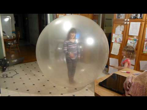 How to Put 2 People Inside a Giant Balloon