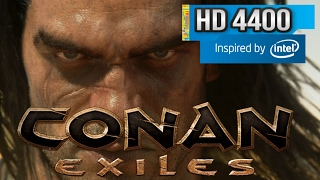Conan exiles - Intel hd 4400 - Surface Pro 2 / 3 i5 - 4 gb Ram - Config Low End PC Intel Hd Graphics