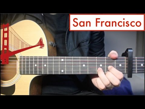 San Francisco 5sos Guitar Lesson Tutorial Chords Youtube