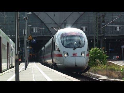 Abfahrt ICE 3 Leipzig Hauptbahnhof