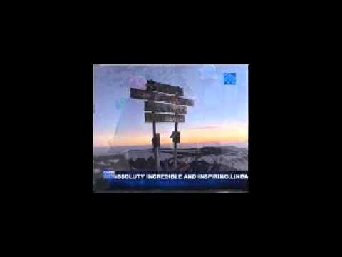 "Bernard Goosen -- ""The Unlikely Mountaineer"" - On Top of Mount Kilimanjaro"