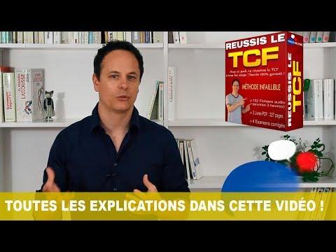 Mon nouveau Cours Réussis le TCF !!!