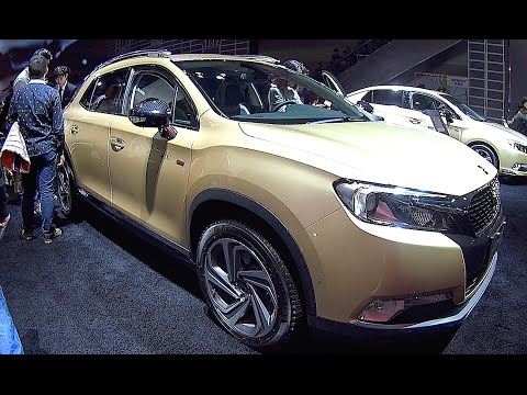 new suv citroen ds6 2016 2017 interior exterior video youtube. Black Bedroom Furniture Sets. Home Design Ideas