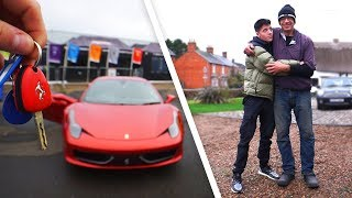 SURPRISING MY DAD WITH DREAM CAR!
