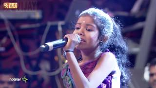 Super Singer Junior - Vaanile Thenila by Vidhya Roopini and Arshad