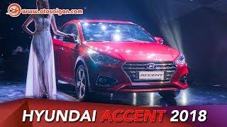 Kh m ph nhanh Hyundai Accent 2018 1.4L AT mi bn c bit gi 540 triu смотреть
