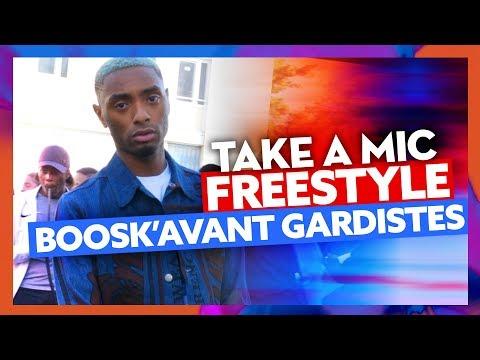 Youtube: Take A Mic | Freestyle Boosk'Avant-Gardistes