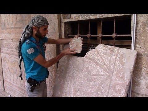 Syria's historic museum of mosaics is victim of war