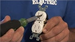 Electrical Help : How to Child Proof (Tamper Resistant) an Outlet