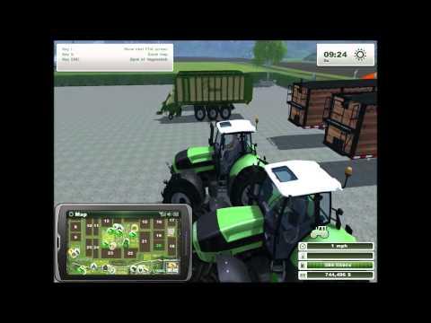 Farming Simulator 2013 Lets Play S2E2, 3 MILLION DOLLARS!
