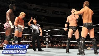 "Dolph Ziggler & ""R-Ziggler"" vs. The Miz vs. Damien ""Mizdow"": SmackDown, September 12, 2014"