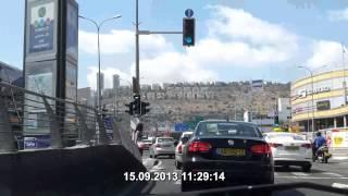 Северный въезд в Хайфу, Чек пост(Северный въезд в Хайфу, Чек пост DailyRoad-Galaxy-2., 2013-09-17T14:10:29.000Z)