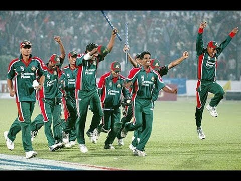 Bangladeshs FIRST EVER WIN OVER INDIA. Historic Dhaka ODI 2004