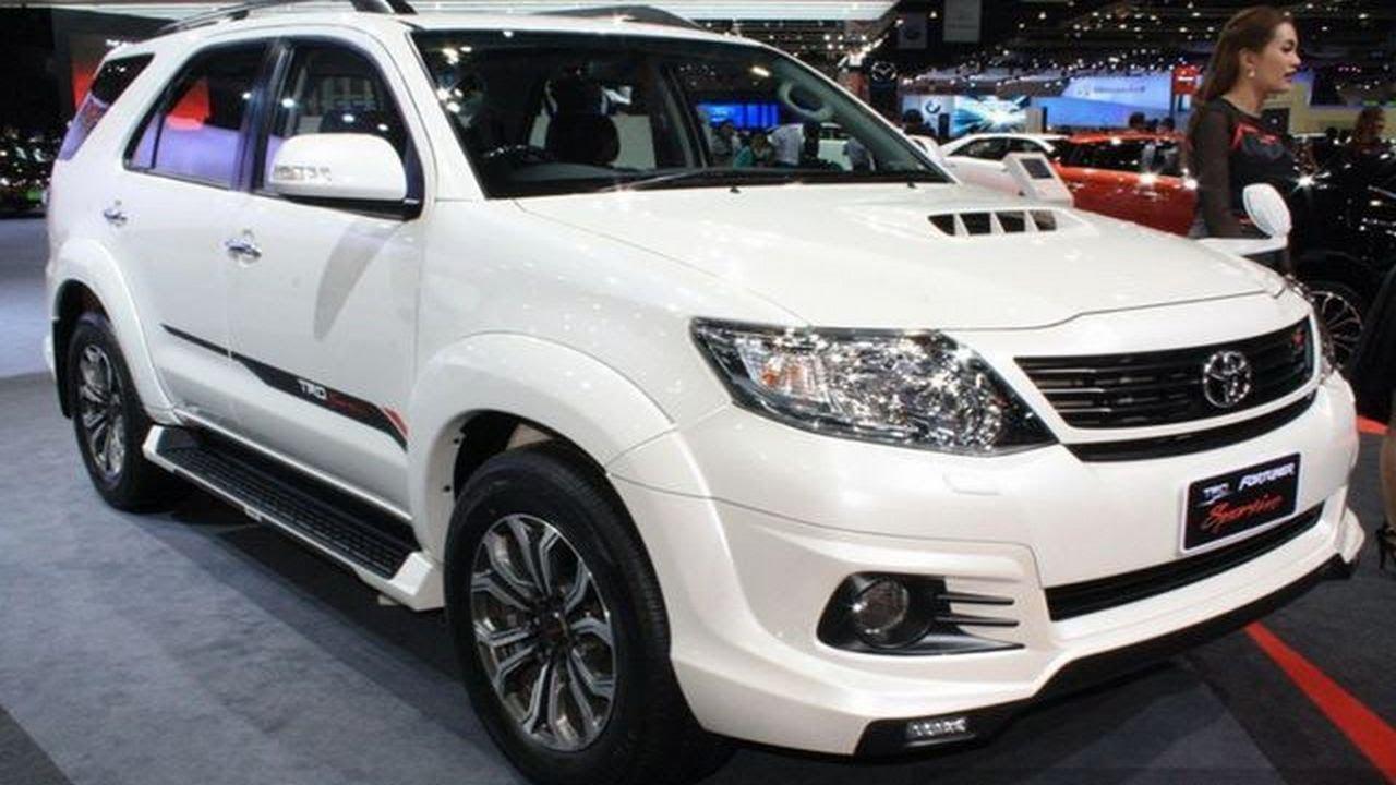 Toyota Fortuner TRD Sportivo Thailand - YouTube