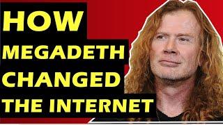 Megadeth  How Dave Mustaine & David Ellefson Helped Revolutionize the Internet