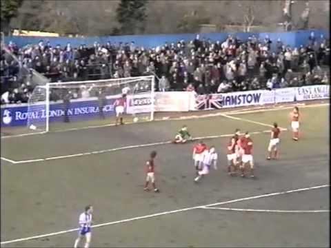 Colchester United vs Sheffield United - February 1982