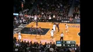 Deron Williams Once Again. Nets vs Bobcats