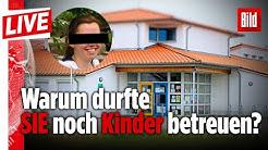 🔴  Mordfall Greta (†3): Sandra M. (25) soll in drei weiteren Kitas Kinder gequält haben | BILD Live