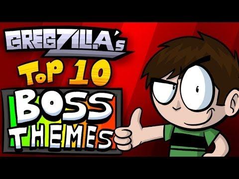 Gregzilla's Top 10 Boss Themes!