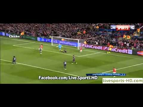 Manchester Utd vs Olympiakos 3-0 All Goals and Highlights 19.03.2014