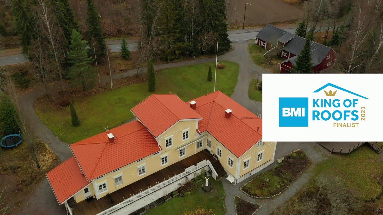 Tuomiston kartano, Kattokeskus Oy | King of Roofs 2021 -finalisti