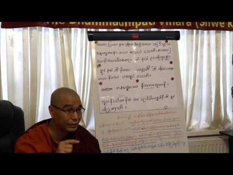 Ashin Adicca - Visuddhimagga Lecture - Day 6