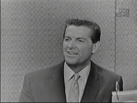 What's My Line? - Bob Cummings;  Adolph Green [panel] (Apr 24, 1960)